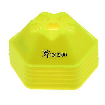 Precision Pro HX Untertasse Kegel Fluo Gelb: Satz von 50