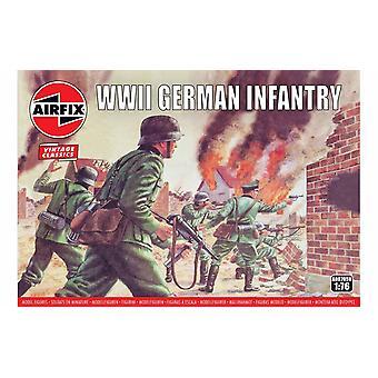 Toisen maailmansodan Saksan jalkaväki 1:76 Ilma korjaus luvut