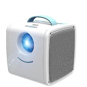 VEIDADZ Q2 Mini Przenośny projektor LCD 30 Lumenów 1080P Projektor edukacyjny LED Kino domowe