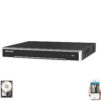 Hikvision 4k Network Nvr Ds-7608ni-k2/8p