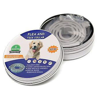 8 Month Flea & Tick Prevention Collar For Cats Dog Harness Mosquitoes Repellent
