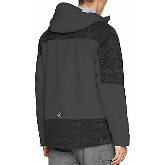 Regatta Mens Marauder II Jacket - Seal Grey/Black - L