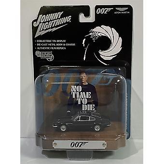 James Bond 007 No Time To Die 1987 Aston Martin V8 1:64 Johnny Lightning