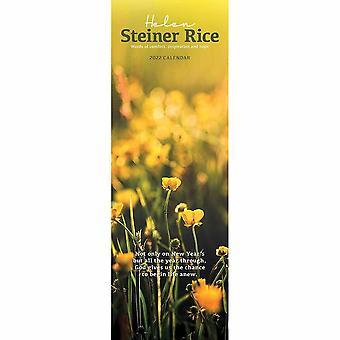 Utterhus Helen Steiner Rice Slim Kalender 2022