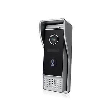 Intercoms vedenpitävä ovikello laajakuvakulmalla 1200tvl kamera