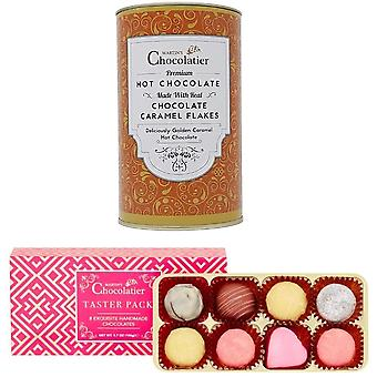 マーティンズショコラティエチョコレートテイスターパック&ホットチョコレートギフトセット チョコレートを飲む