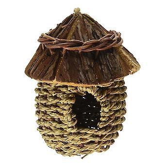 Prevue All Natural Fiber Indoor/Outdoor Wood Roof Nest - 1 count