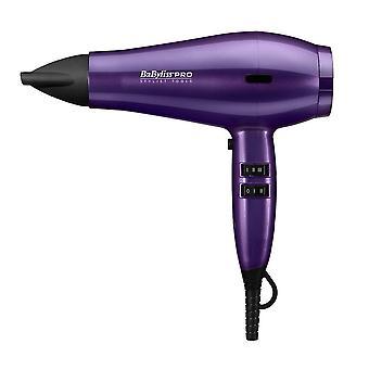 Babyliss Pro Spectrum Dryer 2100W Salon Hair Styling Hairdryer - Purple Mist