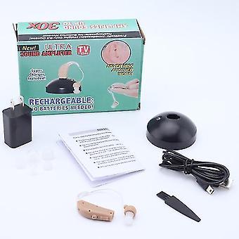 Audífonos recargables bte oído amplificador auditivo tono ajustable bte audífono amplificador de sonido