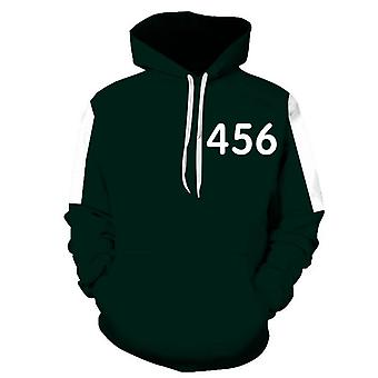 Squid Game Costume/hooded Sweater