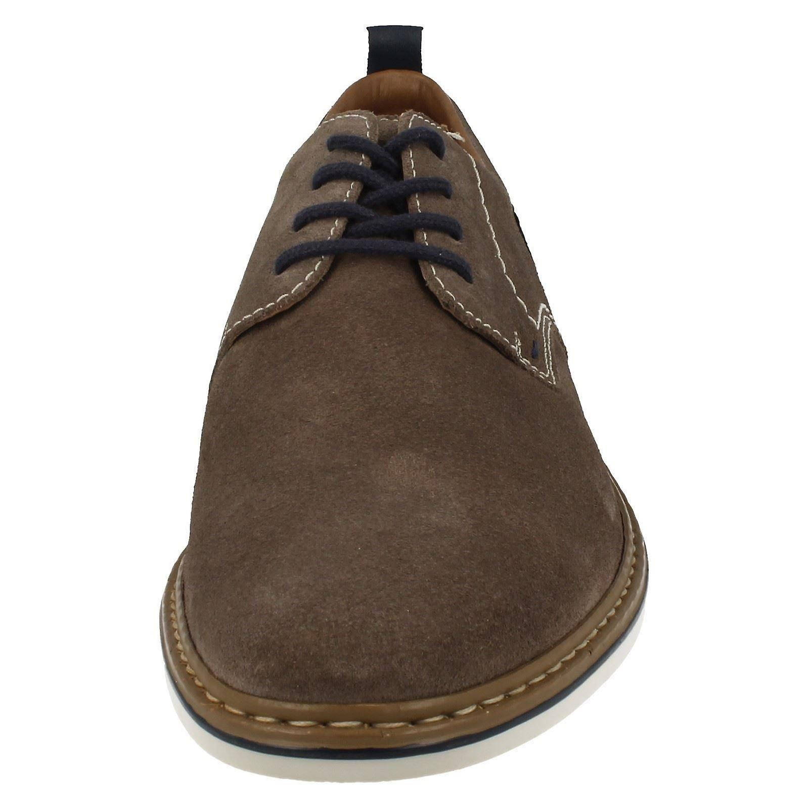 Mens Rieker Smart Casual Lace Up chaussures B1421