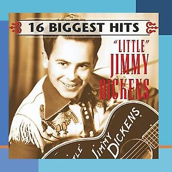 Little Jimmy Dickens - 16 Biggest Hits [CD] USA importare