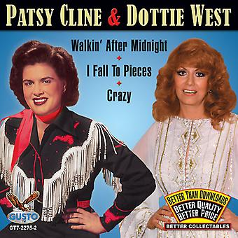 Patsy Cline & Dottie West - Walkin After Midnight/I Fall to Pieces/Crazy [CD] USA import