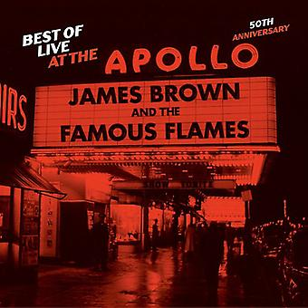 James Brown - Best of Live at the Apollo-50th Anniversary [CD] USA import