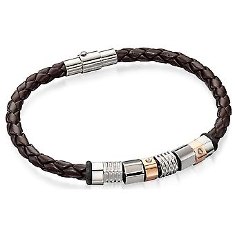 Edelstaal Rose goud verguld trendy armbanden