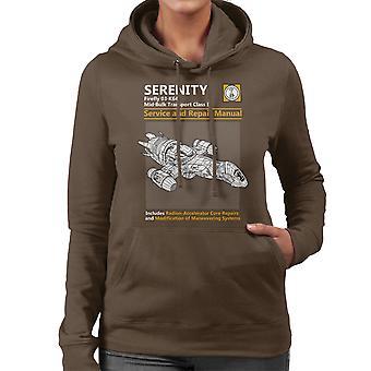 Firefly sereniteit Service en reparatie handleiding vrouwen de Hooded Sweatshirt