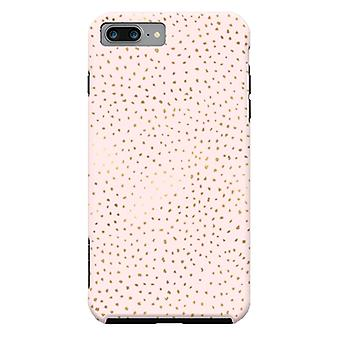 ArtsCase Designers casos pontilhado rosa e ouro para iPhone dura 8 Plus / iPhone 7 Plus