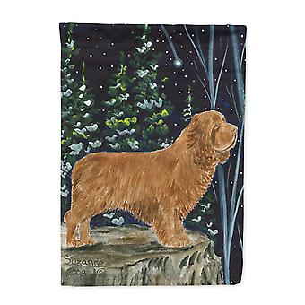 Carolines Treasures  SS8174-FLAG-PARENT Sussex Spaniel Flag