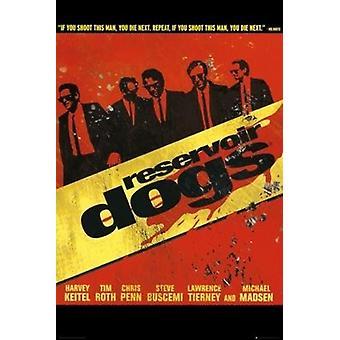 Reservoir Dogs - Spaziergang-Poster-Plakat-Druck