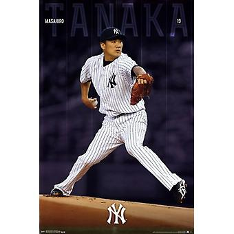 New York Yankees - Tanaka M 14 affiche Poster Print