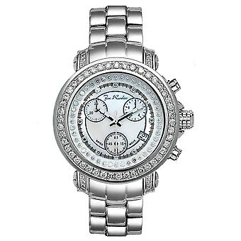 Joe Rodeo diamond men's watch - RIO silver 2 ctw