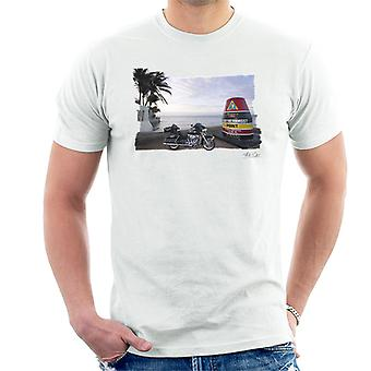 Harley Davidson Key West White Men's T-Shirt