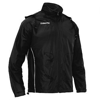 2013-14 Macron Rain Jacket (Black)