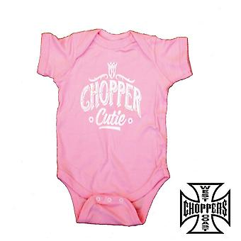 West Coast choppers onesie chopper Cutie baby klimplant