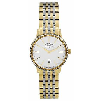 Rotary Womens Les Originales Gold PVD Plated LB90056/01 Watch