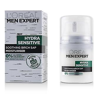 L'oreal Men Expert Hydra Sensitive Moisturiser - 50ml/1.6oz