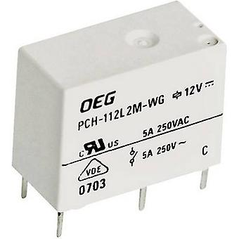 TE Connectivity PCH-112L2M-WG kretskort relä 12 V DC 5 A 1 Maker 1 PC (s)