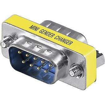 Goobay Series Adapter [1x D-SUB-plug 9-pin - 1x D-SUB-plug 9-pin] 0 m Yellow