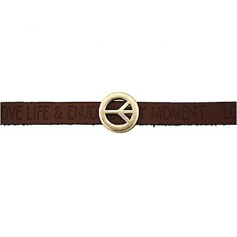 Women - bracelet - harmony - peace - WISHES - Brown - dark - magnetic closure