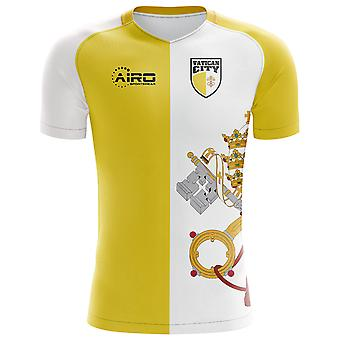 2020-2021 Vatican City Home Concept Football Shirt - Womens
