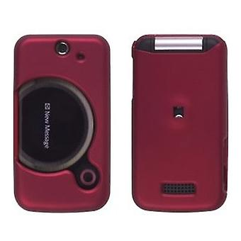 5 Pack -Wireless Solutions Soft Touch Snap-On Case for Sony Ericsson T717 Equinox - Rouge