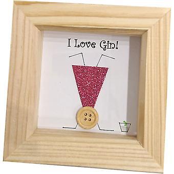 Handmade Love Gin by Wee Bee Gifts
