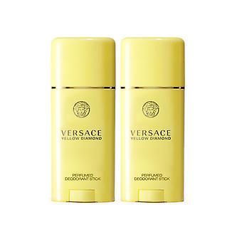 2-pack Versace Yellow Diamond Deostick 50ml