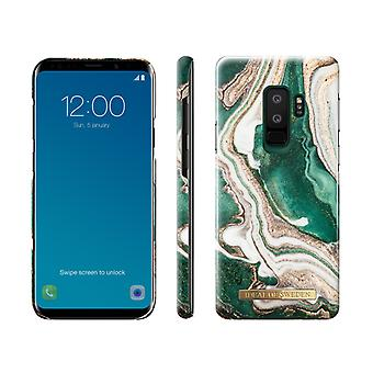 iDeal Of Sweden Samsung Galaxy S9 Plus - Golden Jade Marble