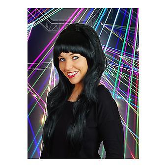 Parrucca parrucche anni 70 nero