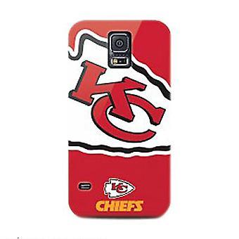 Mizco Sports NFL Oversized Snapback TPU Case for Samsung Galaxy S5 (Kansas City Chiefs)