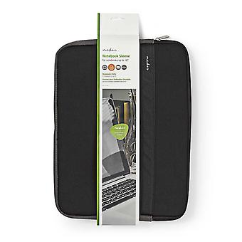 Couvrir de nedis NBSE15100BK pour ordinateur portable 15-16 «en néoprène noir/anthracite