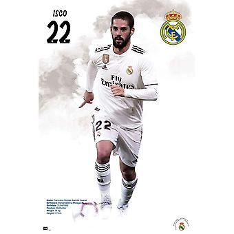 Real Madrid CF Isco Poster