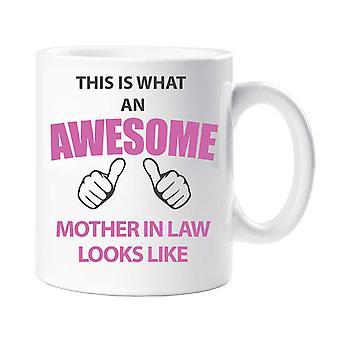 Esto es lo que una madre impresionante de ley parece taza