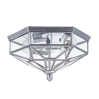 Maytoni Lighting Zeil House Ceiling Lamp, Chrome