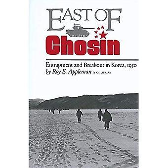 Öster om Chosin: brottsprovokation och Breakout i Korea, 1950 (Texas A & M University militär historia (Inbunden))