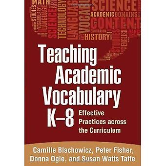 Undervisning akademisk vokabulär i k-8