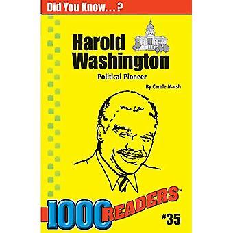 Harold Washington: Politische Pionier