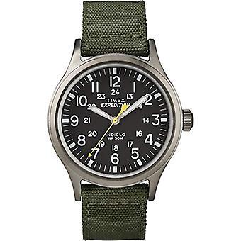 Chesapeake T49961, Timex Unisex wristwatch-Adult, black (black/green)