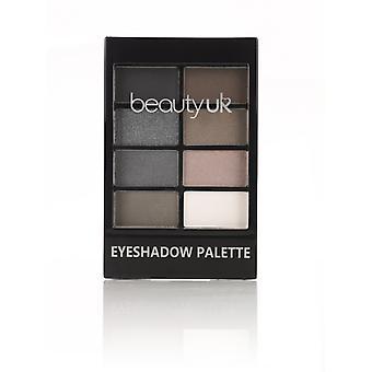 Beauty UK Eyeshadow Palette No. 7-Black Velvet