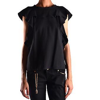 Pinko Ezbc056135 Women's Black Polyester Top